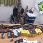 Σύλληψη για παράνομη θήρα και παράνομη μεταφορά και παραποίηση κυνηγετικού όπλου