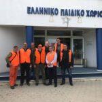 Ο ΚΣ Θεσσαλονίκης μοίρασε κρέας αγριόχοιρου στο ελληνικό παιδικό χωριό