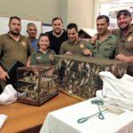 Περισσότερα από 200 ωδικά πτηνά κατάσχεσαν οι θηροφύλακες της Δ' ΚΟΣΕ