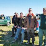 Κυνηγοί, θηροφύλακες και μαθητές έκαναν δεντροφύτευση σε πρώην χωματερή