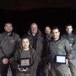 Βράβευση της θηροφυλακής της Δ' ΚΟΣΕ από τον ΚΣ Πειραιά....VIDEO