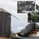 «Βομβαρδισμένο» τοπίο η Κωπαΐδα: Ανεμοστρόβιλος διαπέρασε την Αλίαρτο