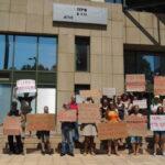Διαμαρτυρία έναντι στο κυνήγι του αγριόχοιρου
