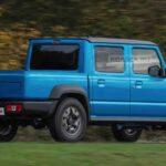 To Suzuki Jimny γίνεται pick-up