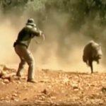 Πέντε επικίνδυνες τουφεκιές σε κυνήγια αγριόχοιρου στη Ρωσία....VIDEO
