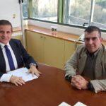Συνάντηση του Προέδρου του ΟΚΑΔΕ με τον ΓΓ του ΥΠΕΝ κ. Αραβώση