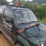 Σύλληψη και κατάσχεση οχήματος για νυχτερινή λαθροθηρία αγριόχοιρου στην Κατερίνη