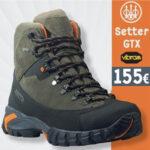 Beretta Setter GTX : Άνεση και εργονομία σε ένα κυνηγετικό μποτάκι